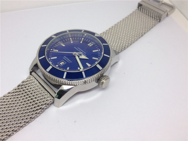 blue dial
