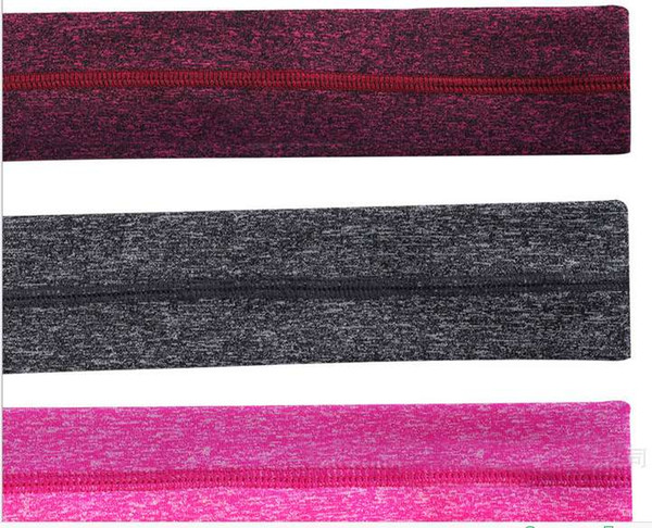2017 Sport Headbands Yoga Hair Elastics Jogging Turbans Sweatbands Hair Bands Fashion Sport Anti-slip Headbands Colorful Bulk Purchase Sport