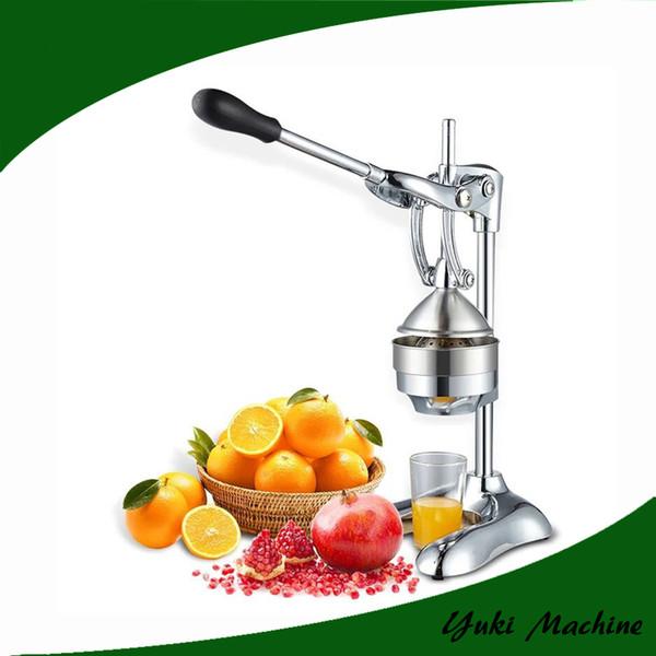 Presse-agrumes manuel en acier inoxydable Machine d'extracteur de jus d'orange Mini-presse-agrumes orange Presse-agrumes de haute qualité 2017