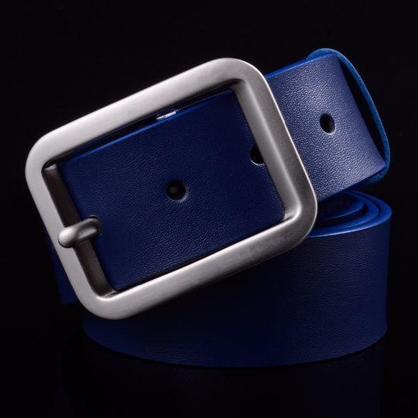 Wholesale- 2017 Direct Selling Mens Luxury Waist Belt Genuine Leather Designer Belts Men High Quality For Popular Brand Cheap Strap Wide