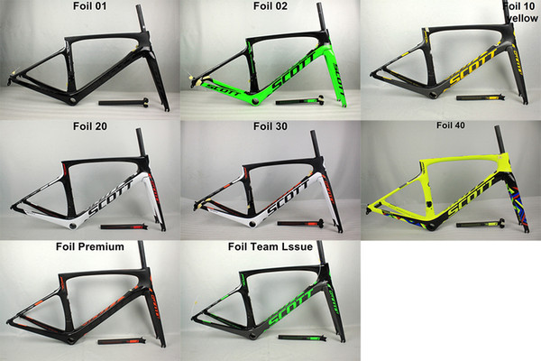 2017 carbon road frame Bicycle Frame UD carbon road bike frame with seatpost and fork, headset PF30/BB30