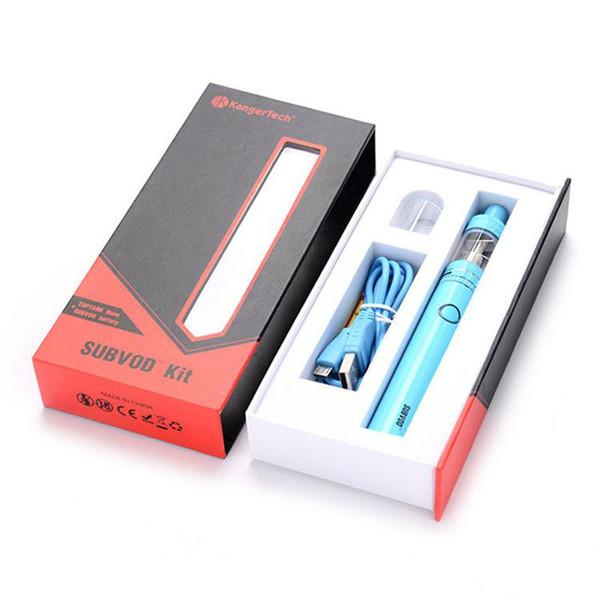 Kangertech Subvod Mini Starter Kit 1300mAh Temperaturregelung Batterie Mod Kanger 3.2ML TopFilling Toptank Nano Vape Pen Kit gegen Topbox Mini