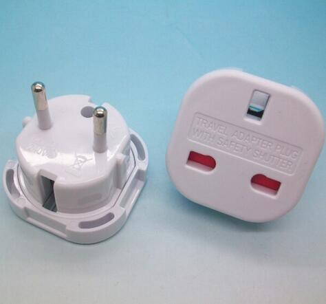 top popular Hot UK TO EU EUROPE EUROPEAN UNiVERSAL TRAVEL CHARGER ADAPTER PLUG CONVERTER 2 PiN Wall Plug Socket 2020