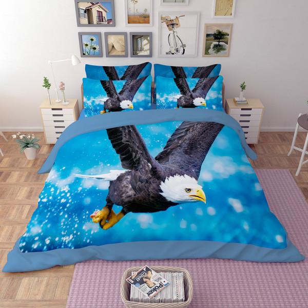 3d Animals Eagle Twin Full Queen King Size 3d Bedding Set Duvet