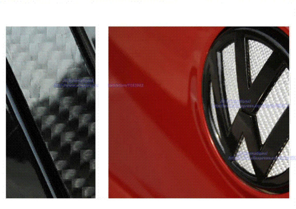 3D New Styling Car Stickers for VW Volkswagen Golf 7/Golf 6/CC/POLO/Bora Logo sticker for Head/Tail/Wheel Sticker Accessories