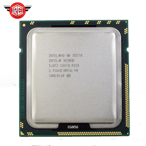 Intel Xeon X5570 processor 2.93GHz 8MB 6.4GT/s Quad-Core LGA1366 Server CPU