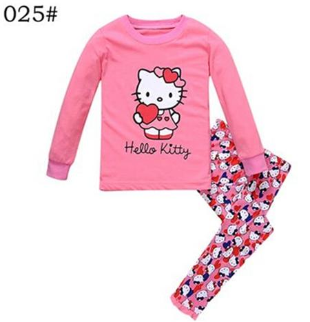Ragazze Pigiami con Hello Kitty dettaglio