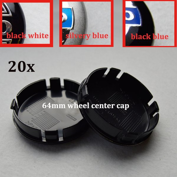 20pcs set 64mm ABS car wheel center hub caps car emblem caps for VOLVO XC90 XC70 XC60 V40 V50 V60 V70 V90 S40 v50 car badge emblem styling