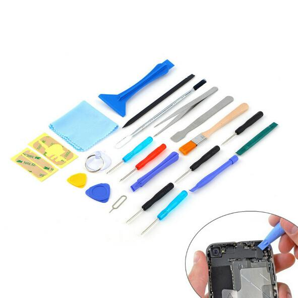 new hot sale 22 in 1 Opening Tool Pry mobile phone Repair Tool Screwdrivers Sucker hand Tools set Kit For Cell Phone Tablet
