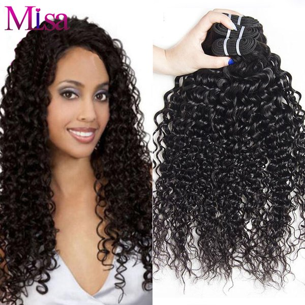 Unprocessed Malaysian Deep Wave Human Hair Weave Bundles Natural