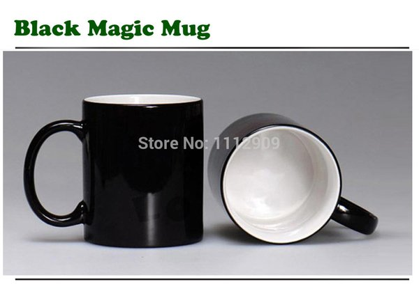 Kaffeetasse Kaffee Tassen Becher Sublimation Black Magic Color