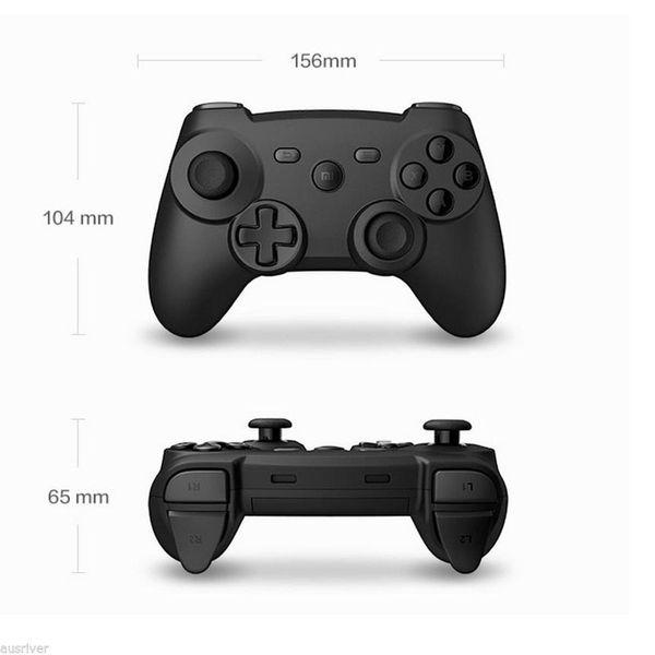 2017 sıcak satış Orijinal Xiaomi Oyun Kolu Kontrol Bluetooth 3.0 Kablosuz 360 ° Uzaktan Gamepad