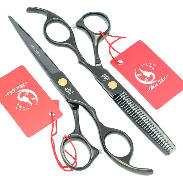 6.0Inch 2017 New Arrival Hairdressing Scissors Japan 440c Barber Cutting Scissors Thinning Shears Salon Hair Scissors,Free Shipping, HA0094