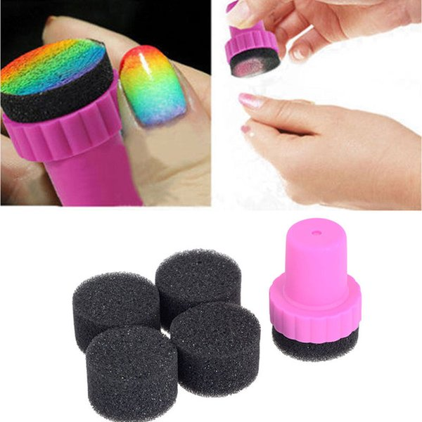 Wholesale Diy Nail Art Design Stamping 1 Stamper 4 Changeable