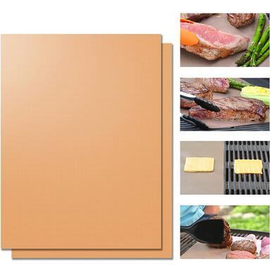2019 Yoshi Copper Grill Mats Durable Bbq Mat Non Stick Roast Bakeware Pads Both Sides Bake Pad Heat Resistant For Cooking Cca6251 From Ruby One 7 54