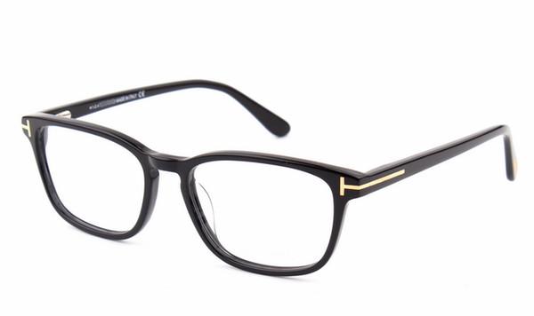 a1243b6a51b 2016 Italian brand glasses frame 5355 men and women retro glasses frame  fashion business plate eye