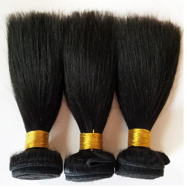 Human Hair Products Brazilian Peruvian Malaysia hair weft 8-12inch High Quality Natural Color Dyeable Indian Remy hair weft extension DHgate