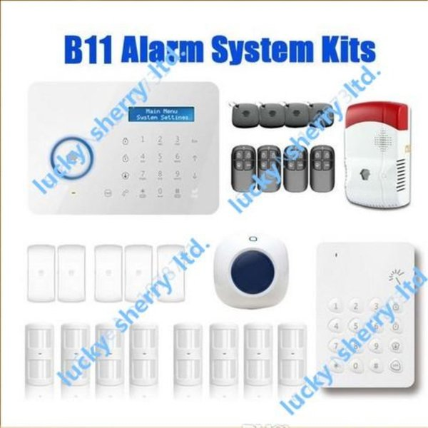 Chuango B11 Wireless Touch Keypad GSM Phone SMS SIM CARD / PSTN Home Security Burglar Alarm System Delivery Time 5-7days