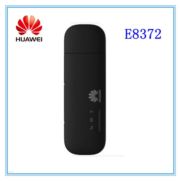 Free shipping Wholesale- Unlocked huawei E8372 150Mbps Wireless Modem 4G Wifi 4G LTE Wifi Dongle LTE Modem