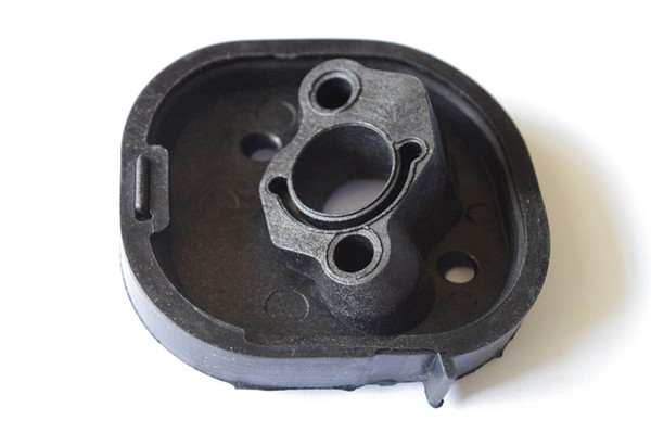 2 X Air intake manifold fits Partner 350 351 370 420 chainsaw carburetor insulator below boot eplacement part