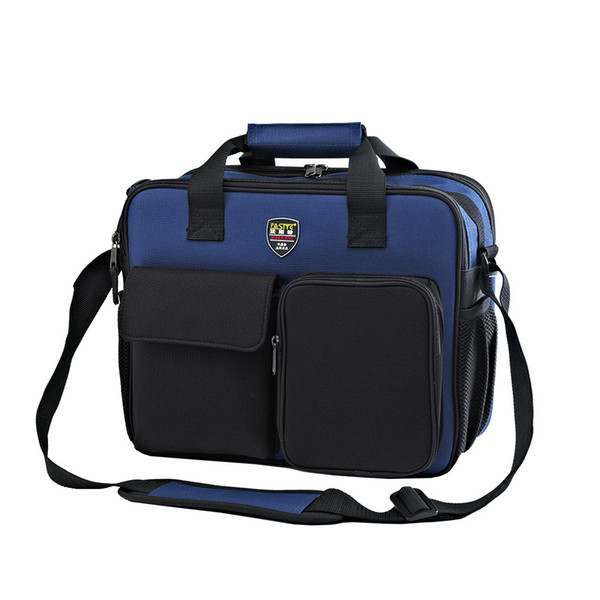 Wholesale-Utility Oxford Fabric Electrician Repair Tool Bag Belt Tool Holder 22 Pockets Hardware Organizer Backpack 34x26x8cm