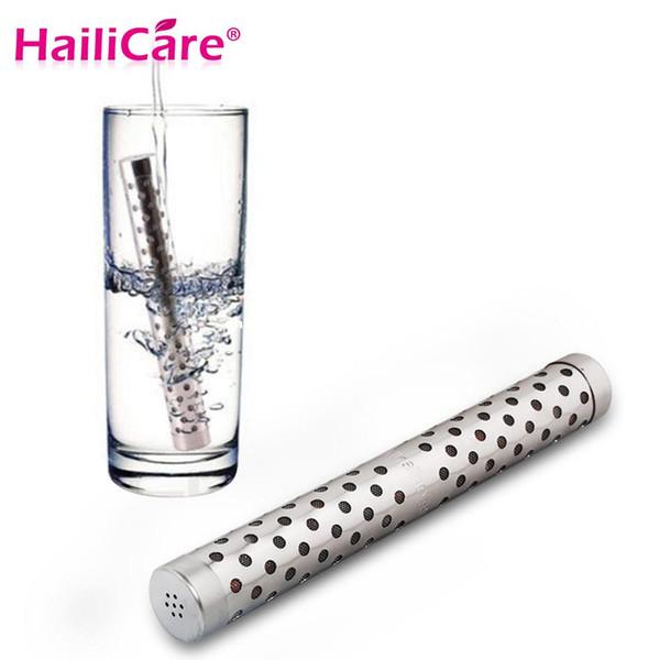 Alkali Su Sopa PH Hidrojen Negatif Iyon Ionizer Mineraller Değnek Sağlık Su Arıtma Filtresi Tedavi Seyahat Boyutu
