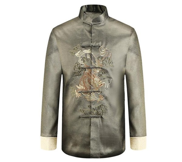 best selling chinese style man jacket Typical fsashion customized men outerwear HY007