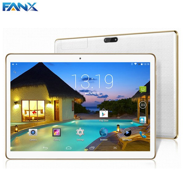 Wholesale- 2016 New 10.1 inch 1GB/16GB Quad Core MTK6582 3G Tablet PC IPS Display 1280X800 Android 5.1 Dual Cameras GSM/WCDMA Phone Pad