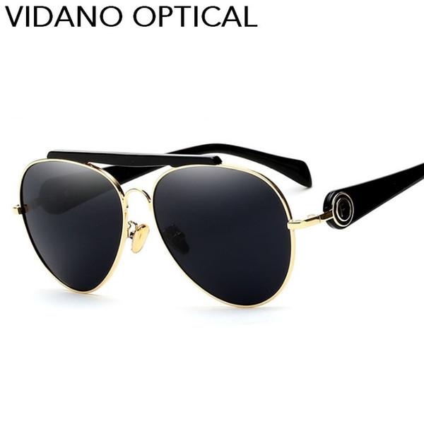 Vidano Optical 2017 New Arrival Fashion Smart Pilot Sunglasses For Men & Women Luxury Modern Design Sun Glasses Stylish Eyewear UV400