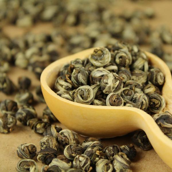 best selling [mcgretea]2020 new good Tea colitas flower tea superior jasmine flower tea jasmine dragon pearl 150g +gift Free shipping