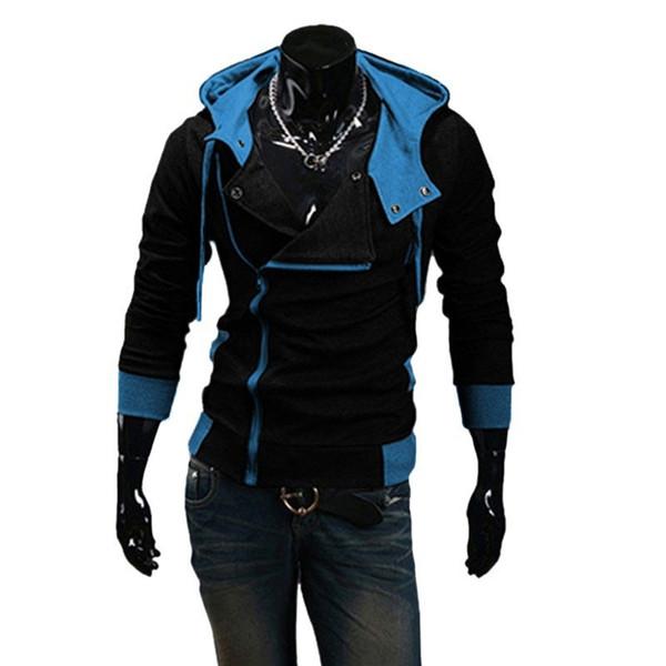 Wholesale-Winter&Autumn Fashion Brand Hoodies Men Casual Outwear Male Hoody Zipper Long Sleeve Sweatshirt Jacket Plus Size M-6XL