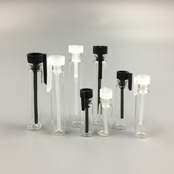 0.5ML 1ML 2ML 3ML di vetro libera della bottiglia di profumo Mini indossa una taglia Cosmetic contenitore vuoto Vial Tester trasparente per il campione