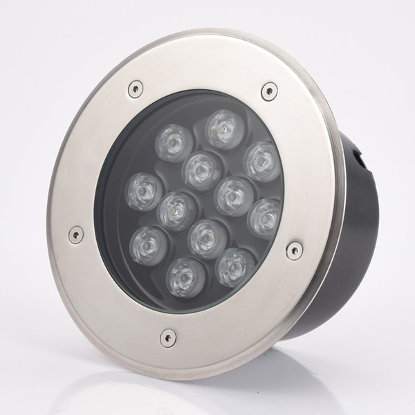 15W 18W 24W led underground lamps underwater light outdoor garden floor landscape stair lighting waterproof IP67 AC110V/220V Stainless steel