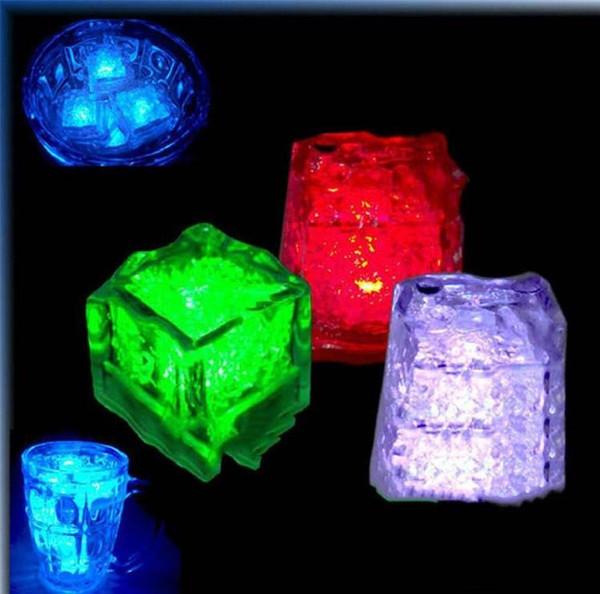 best selling Free Ice Cube LED Light Flash Press control Color Wedding Party bars Decoration 120 PCS, 240 PCS