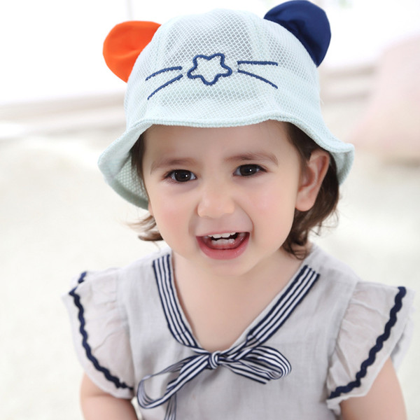 Baby Hat Boy Girl Beanie Caps Fashion Bucket Toddler Hat Children Caps Kids Boys Girls Sun Hat Kids Cap Free Shipping