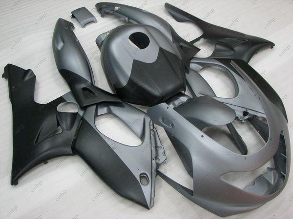 Kits Para O Corpo Thundercat 00 01 Carroçaria Para YAMAF YZF600R 02 03 Material Preto CINZA Kits Completos YZF600R 96 97 1997 - 2007