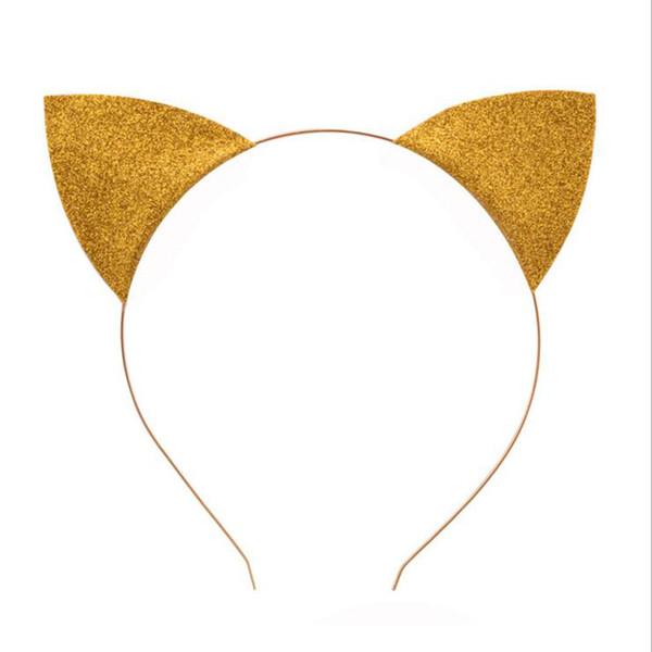 Cadılar bayramı Hediye Cosplay Catwomen Bantlar Yetişkinler Çocuklar Glitter Kedi Kulaklar Cadılar Bayramı Fantezi Elbise Bandı Noel Kostüm Aksesuarları