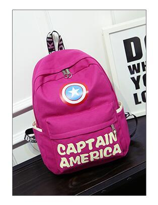 Astounding 2019 Captain America Backpack Shield Picture School Bag Hero Daypack Film Rucksack Outdoor Schoolbag Sport Day Pack Canvas Bag Travelling Bag From Pdpeps Interior Chair Design Pdpepsorg