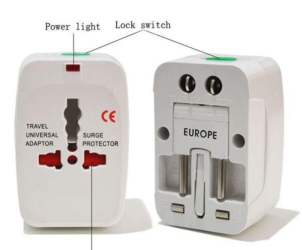 best selling New OEM All in One Universal Travel Power Plug AC Adapter Converter UK US EU AU Worldwide