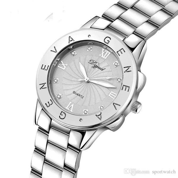 New Style Women Casual Luxury Watches Ladies Diamond Quartz Wrist Watches Lady Fashion Small Dial Watches