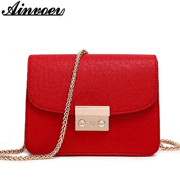 Оптовая продажа-Ainvoev Маленькие женщины сумка сцепления сумки хорошее качество мини сумки на ремне Женщины сумки Crossbody сумки горячие продажа hl8522