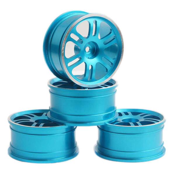 RC Aluminum Wheel 4pc D:52mm W:26mm Fit HSP 1:10 On-Road Drift Car Rim 102039B