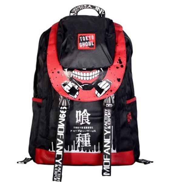 Malidaike Anime Tokyo Ghoul One Piece Naruto High Quality Oxford Cloth Student Backpack Cosplay Bag Gift