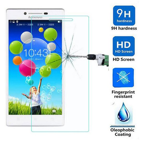 Wholesale-Tempered Glass Screen Protector For Lenovo A328 A536 A2010 A7010 S60 S850 t S820 K5 plus note vibe shot z90 S1 Toughened Glass