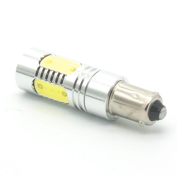 New White ba9s t4w LED Hi-Power 7.5W Side Marker Width Reading map Door Interior License plate LIGHT bulb