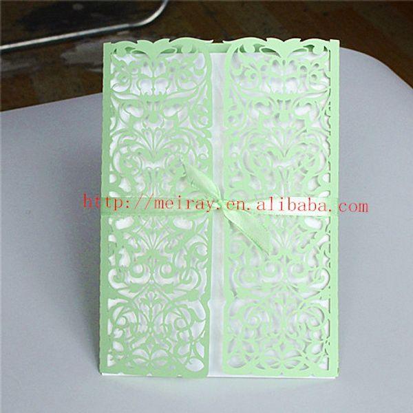 Distributors Of Discount Green Wedding Invitation Wedding
