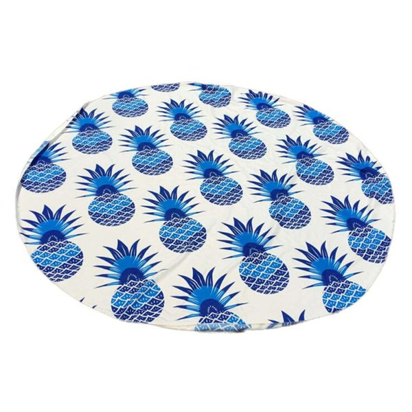 Wholesale-2016 Round Beach Pool Home Shower Towel Blanket Table Cloth Yoga Mat Nov15
