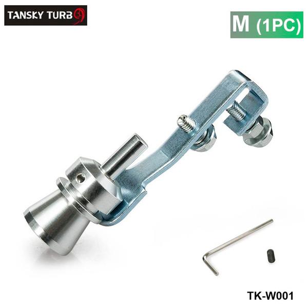 best selling Tansky - M Size New Turbo Sound Exhaust Muffler Fake Blow Off Valve BOV Simulator Whistler TK-W001 (1PC)