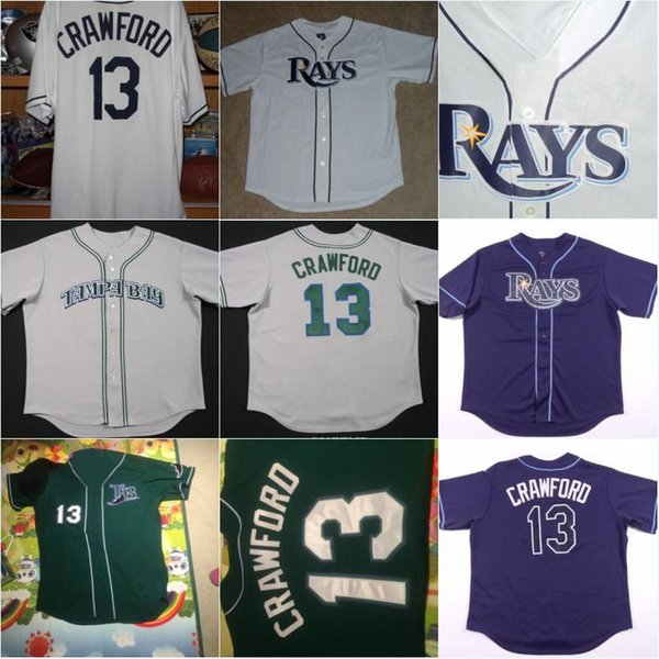 online store a844c cb294 2019 Men'S Carl Crawford TAMPA BAY RAYS Throwback Baseball Jersey Cheap  Authentic Stitched Baseball Jerseys From Ornaments Shop, $29.45 | DHgate.Com