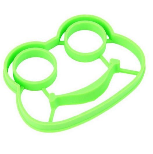 Wholesale Silicone Frog Egg Mold Egg Tools Rings Cooking Tools Pancake Molds Kitchen Gadgets Christmas Cookie Decoration